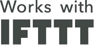 ismartgate works with IFTTT logo