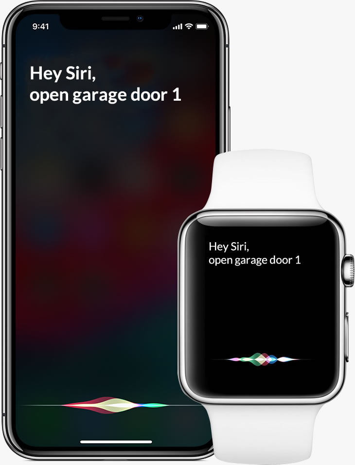 ismatgate open your garage with Siri apple watch and iphone