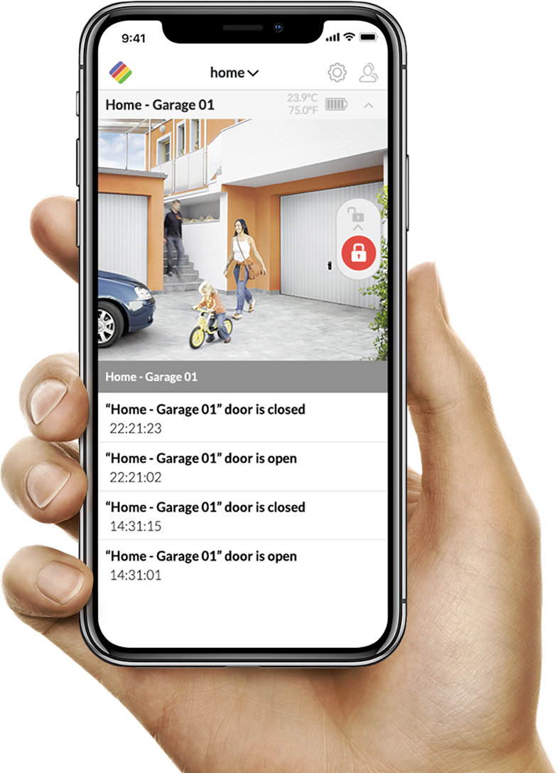 ismartgate smart garage app video feature